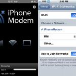 Come usare iPhone come modem wi-fi