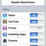 Impostare limitazioni su iPhone per utilizzo bambini
