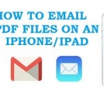 Come Inviare PDF via Email da iPhone