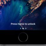 Come attivare vecchio sblocco schermo tramite tasto Home su iOS 10