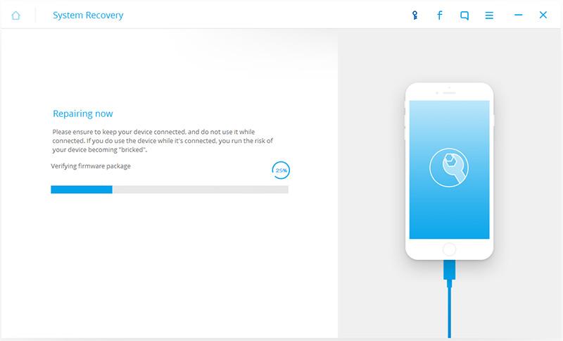 iphone bloccato su schermata batteria