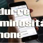 Come ridurre luminosità iPhone sotto il limite